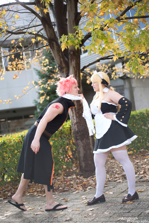 Lucy & Natsu from Fairy Tail Cosplay