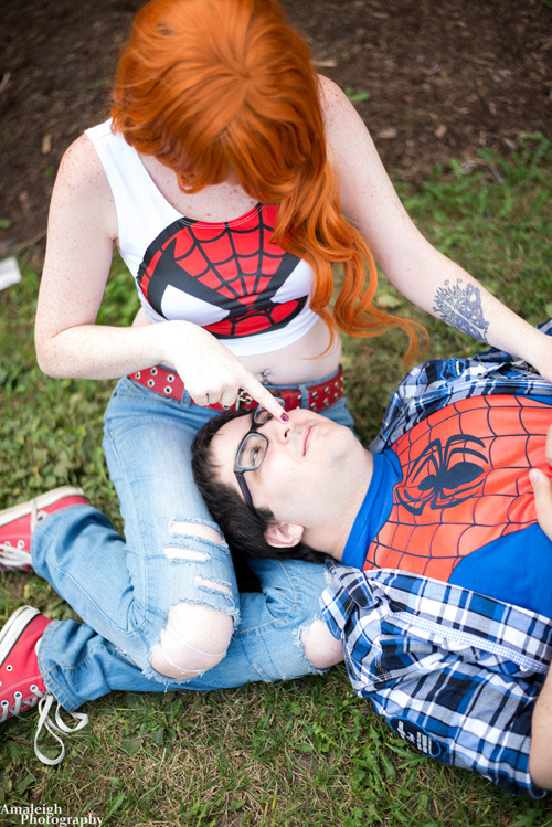 Mary Jane & Peter Parker Cosplay