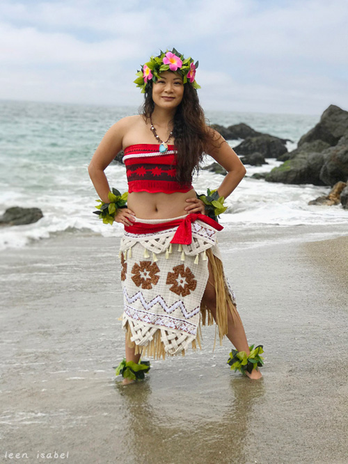Disney Moana Cosplay by Leen Isabel