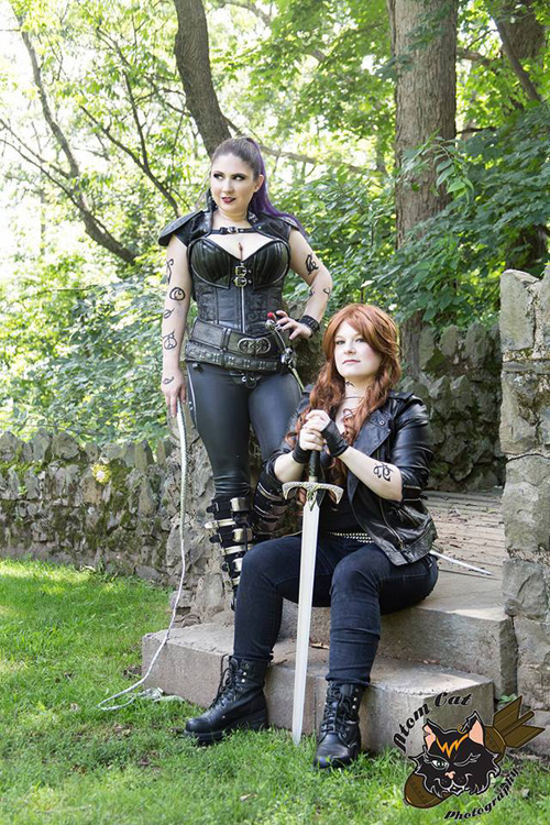Mortal Instruments Izzy & Clary Cosplay