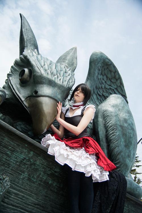 Lolita Queen of Hearts Cosplay