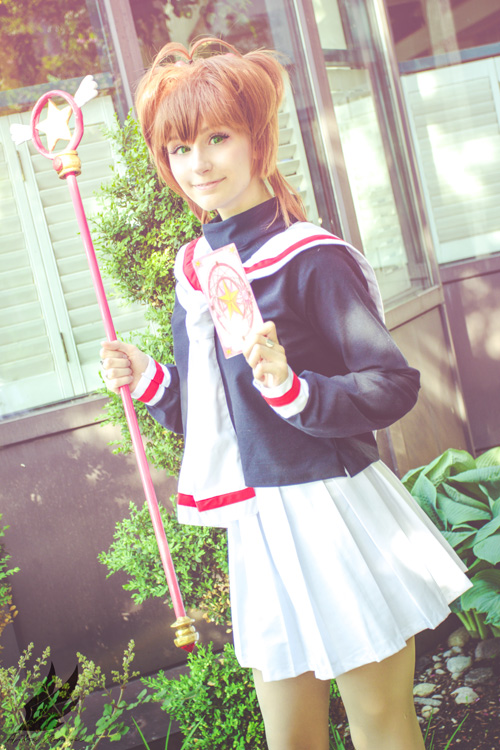 Sakura & Tomoyo from Cardcaptor Sakura Cosplay