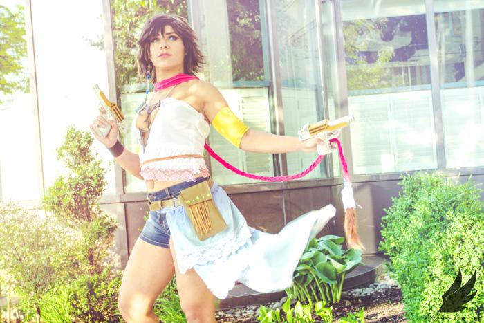 Yuna from Final Fantasy X2 Cosplay