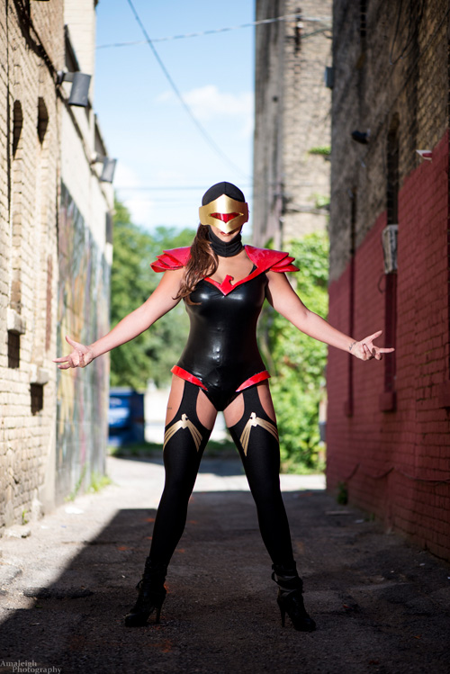 Genderbent Phoenix Force Cyclops Cosplay