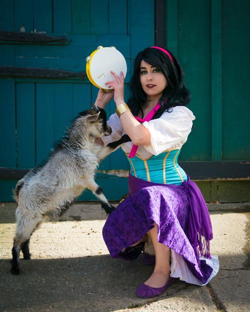 Esmeralda & Djali Cosplay