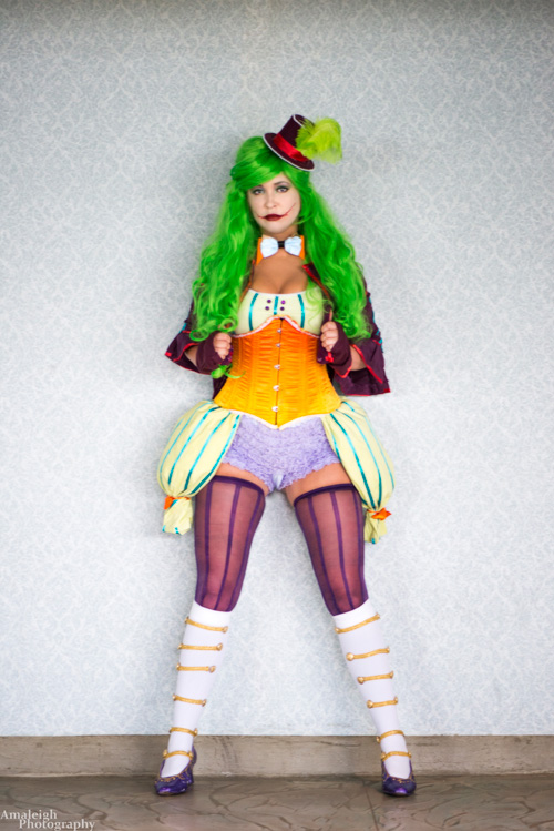 NoFlutter Design Joker Cosplay
