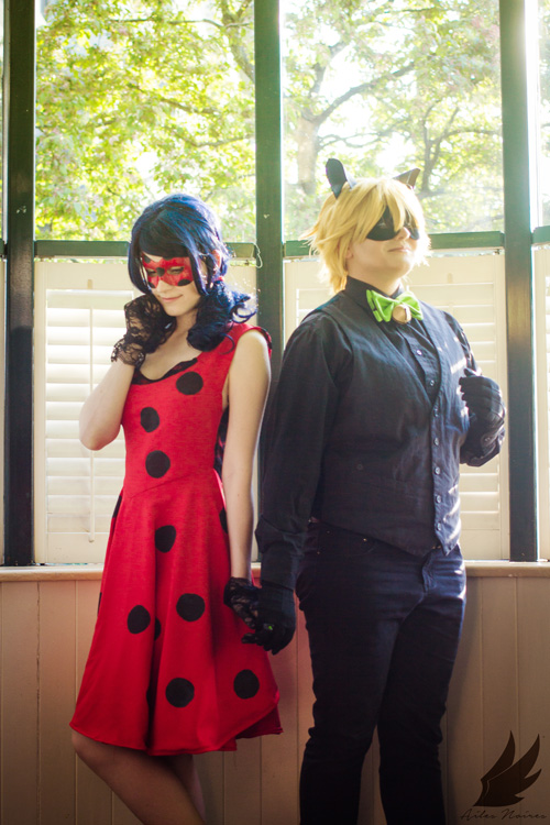 Formal Ladybug and Cat Noir from Miraculous Ladybug Cosplay