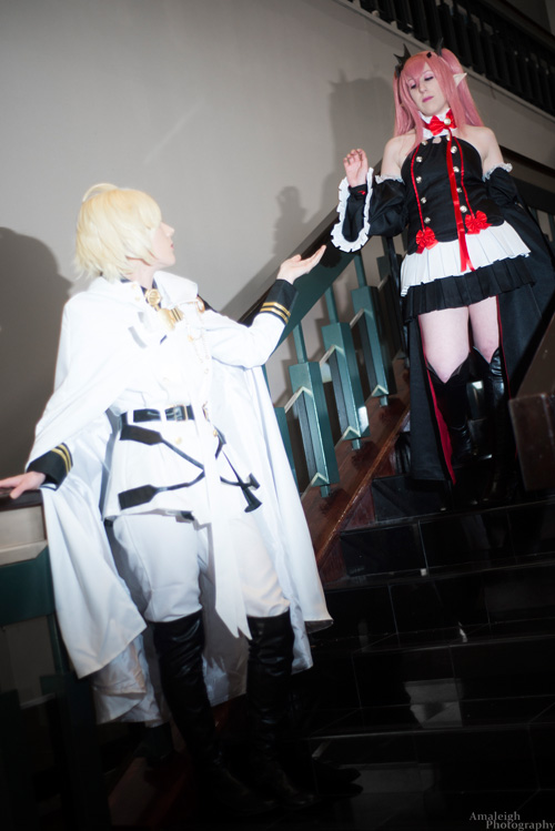 Mika & Krul from Owari No Seraph Cosplay