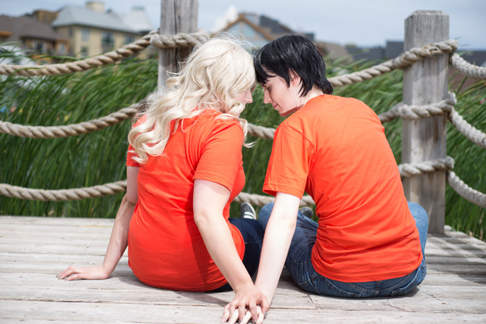Annabeth and Percy from Percy Jackson and the Olympians Cosplay