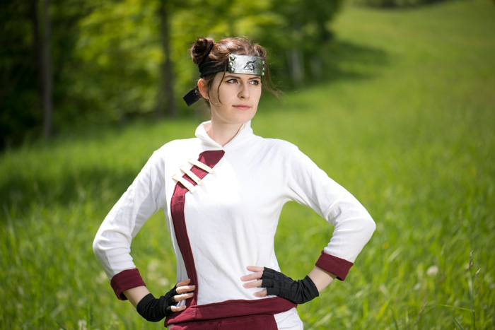 Tenten from Naruto Shippuden Cosplay