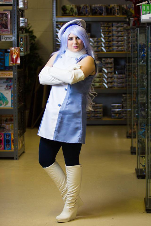Aila Jyrkiäinen from Gundam Build Fighters Cosplay
