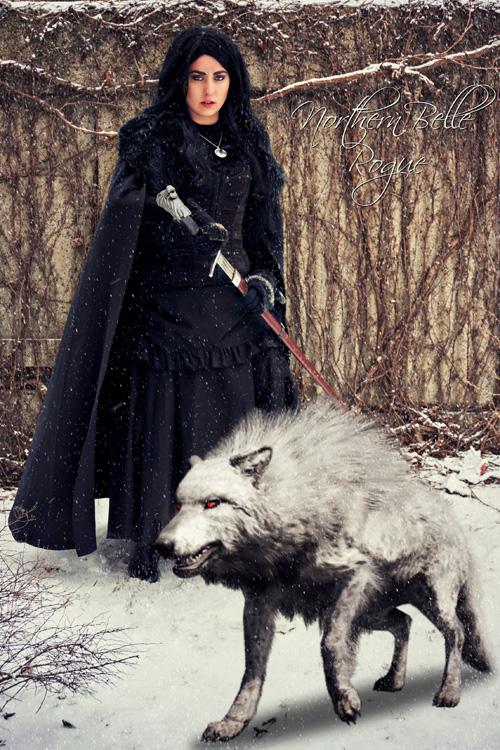 Genderbent Jon Snow Cosplay