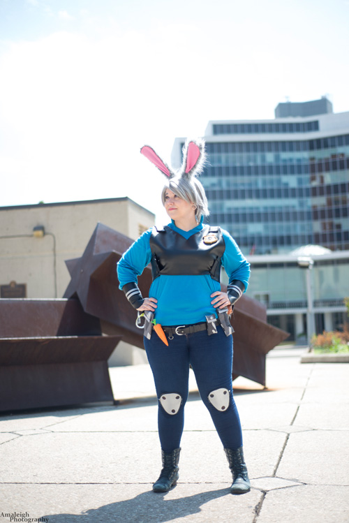 Officer Judy Hopps from Zootopia Cosplay