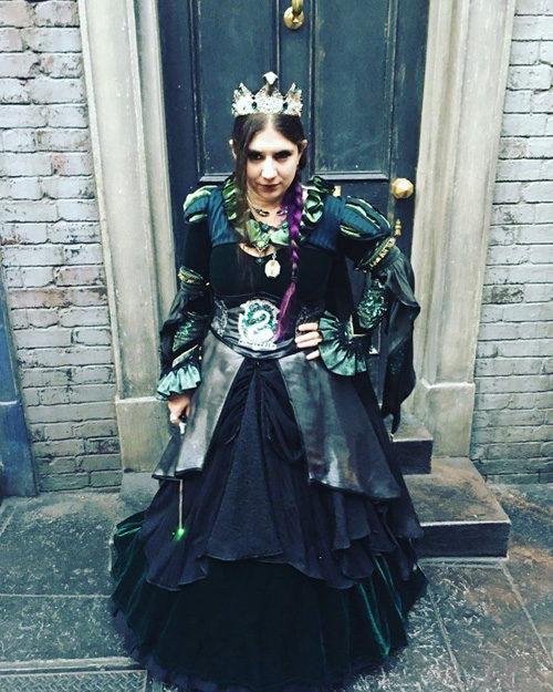 Lady Slytherin Cosplay