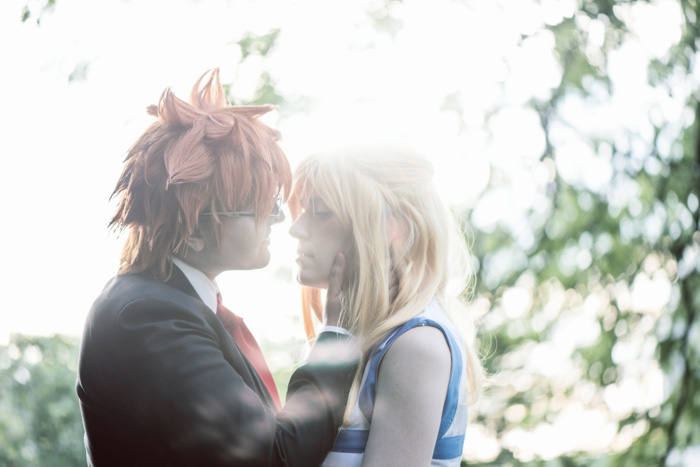Lucy and Leo from Fairy Tail Cosplay