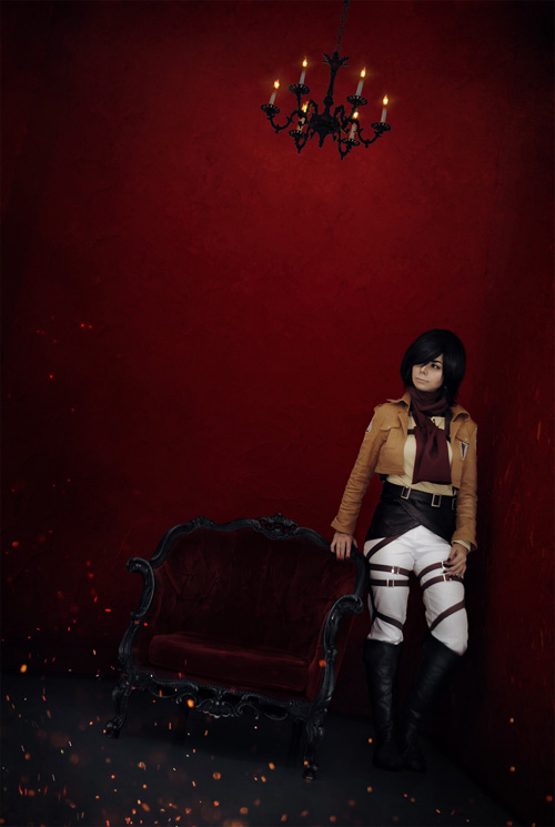 Mikasa from Attack on Titan�Cosplay