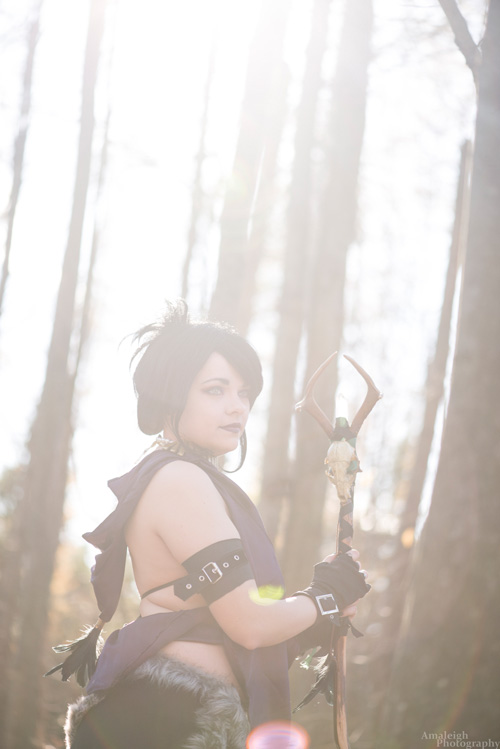 Morrigan from Dragon Age: Origins Cosplay