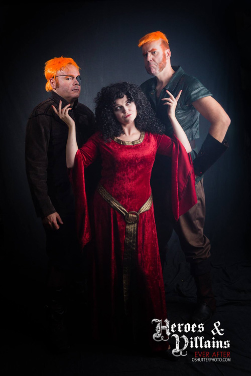 Mother Gothel & the Stabbington Brothers from Tangled Cosplay
