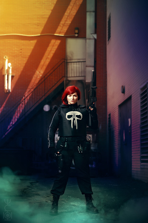 Rachel Cole Alves Punisher Cosplay