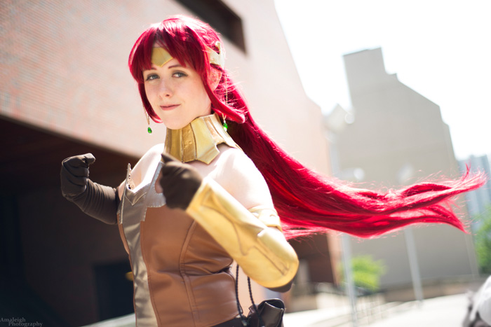 Pyrrha from RWBY Cosplay