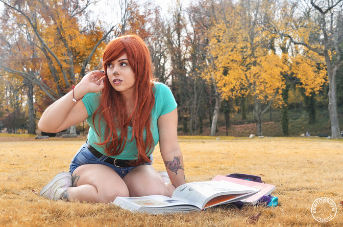 Roxanne from A Goofy Movie Cosplay