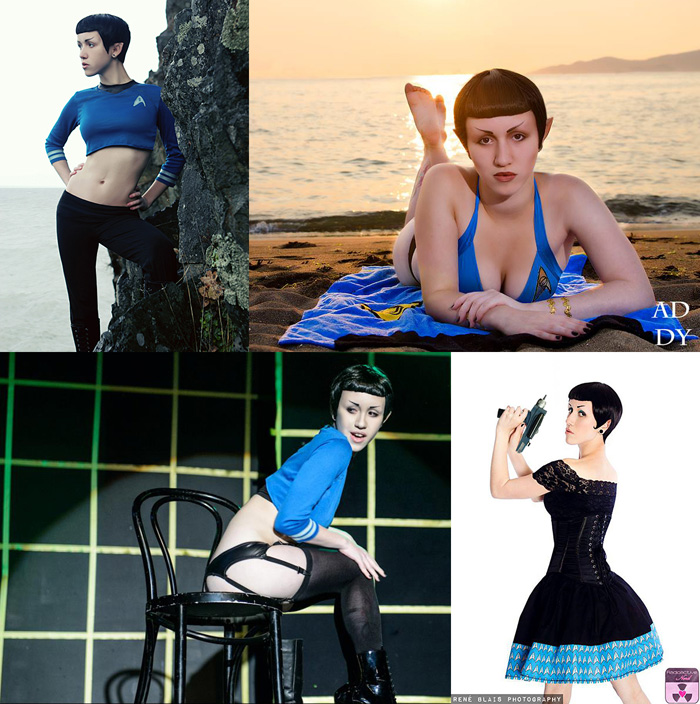 Geek Girls Genderbend/Crossplay Cosplays