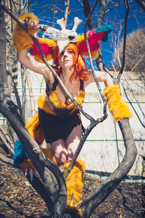 Gnar from League of Legends Cosplay