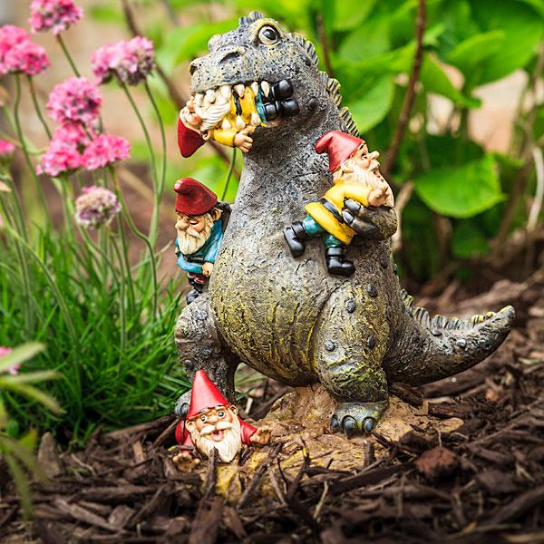 rampaging kaiju garden gnome - Gnome Garden