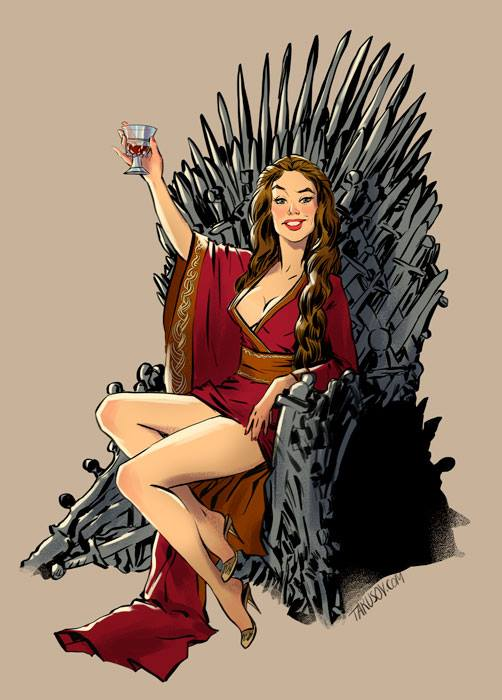 Game of Thrones Pinups