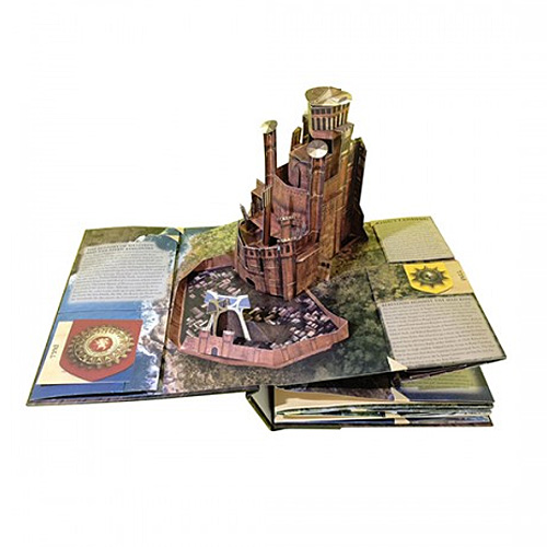 Stunning Game Of Thrones A Pop Up Guide To Westeros Book