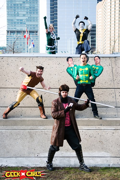 Geek Pride Day Group Cosplays