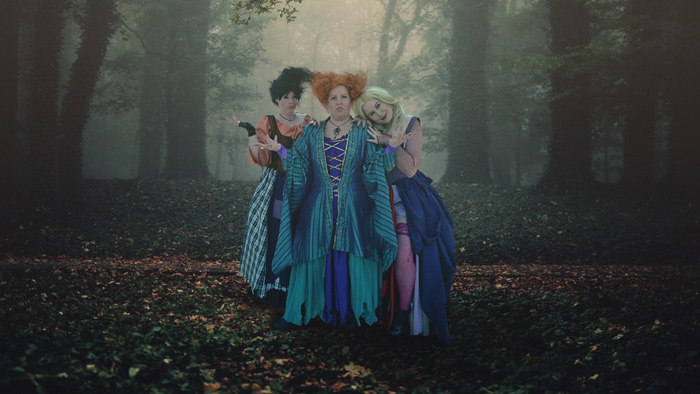 Hocus Pocus Group Cosplay