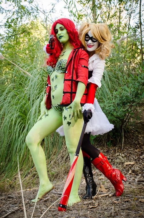 Poison Ivy Harley Quinn Sex