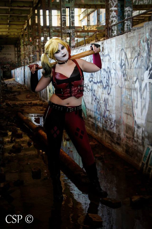 Arkham City Harley Quinn Cosplay