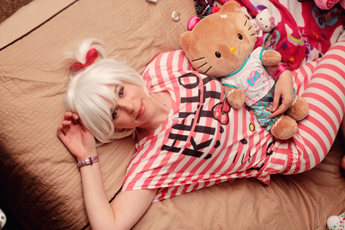Hello Kitty Fangirl Photoshoot