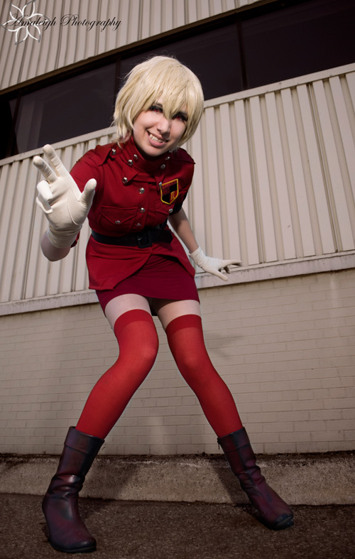 Seras Victoria from Hellsing Cosplay