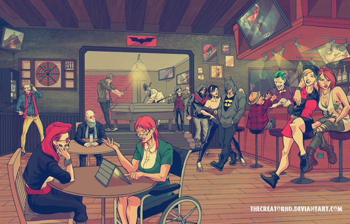 Hipster Superheroes