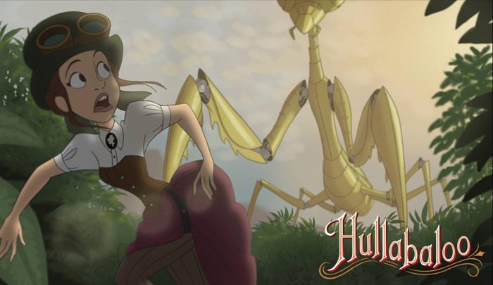 hullabaloo steampunk animated film