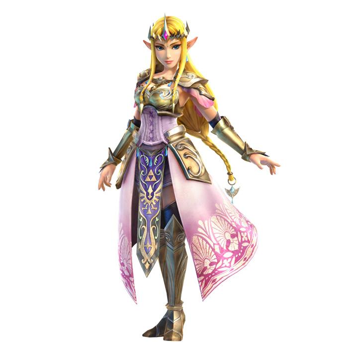 Character Design Challenge Zelda : Hyrule warriors character designs