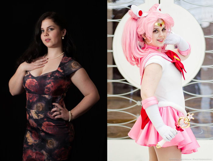 Geek Girls In and Out of Cosplay