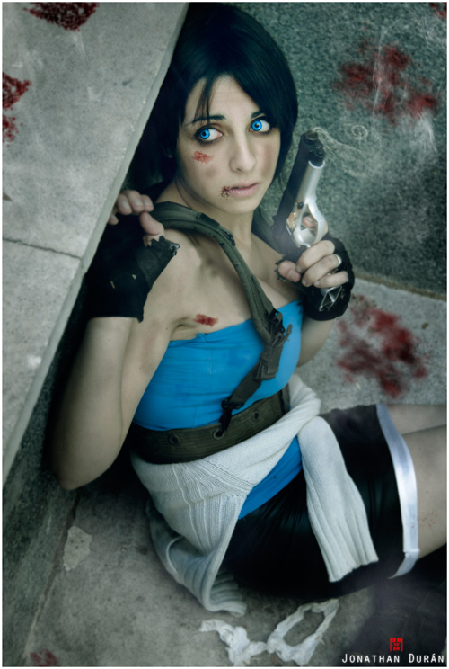 Resident evil jill valentine cosplay nude have
