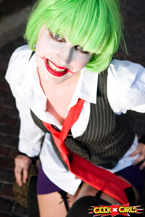 Sexy Lady Joker Cosplay