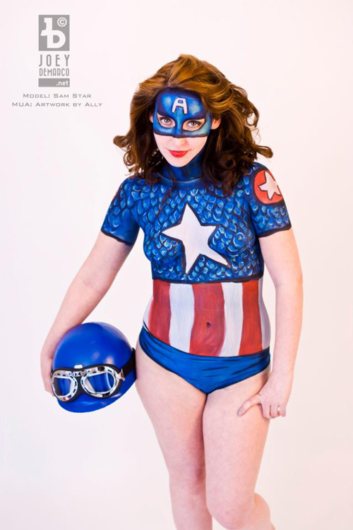 14 Captain America Photoshoots