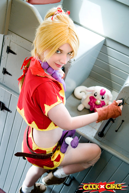 Kid from Chrono Cross Cosplay