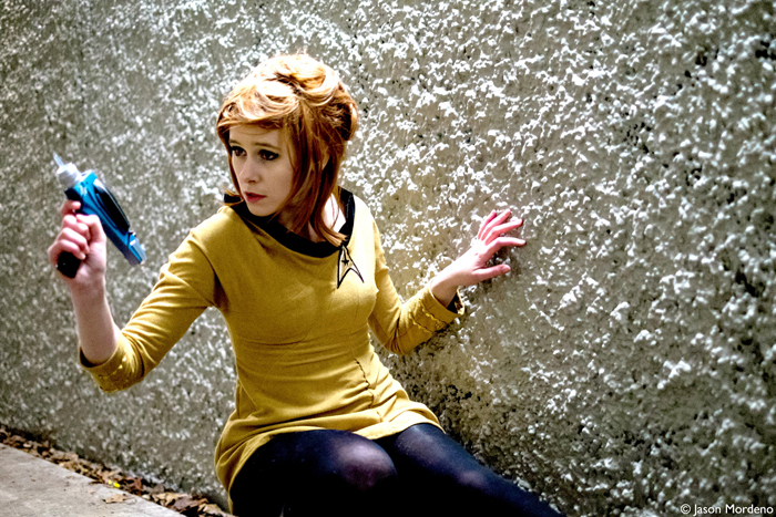 Captain Kirk With Spock Cosplay