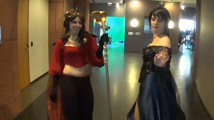 Cosplayers Dancing at Kitchener Comic Con 2015 Video