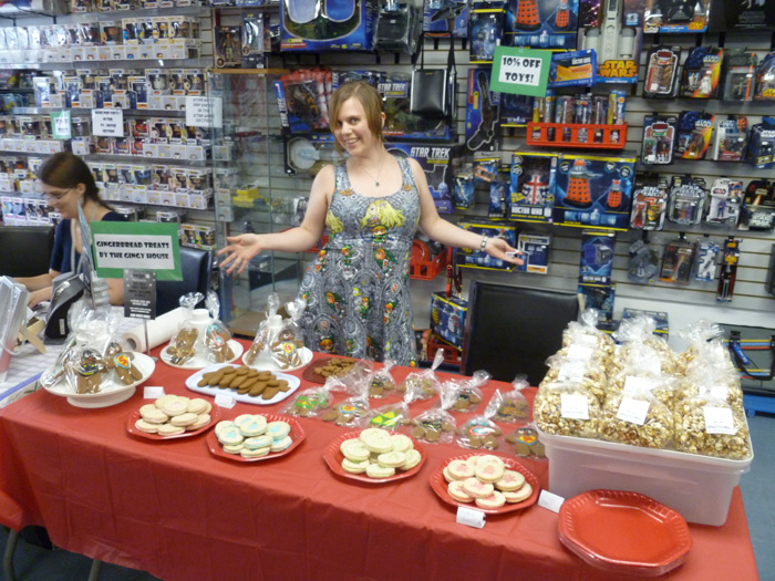 Ladies Night at The Comic Book Shoppe