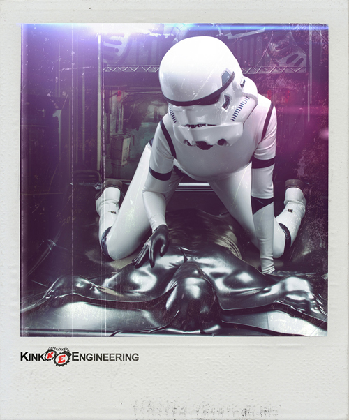 Latex Stormtrooper