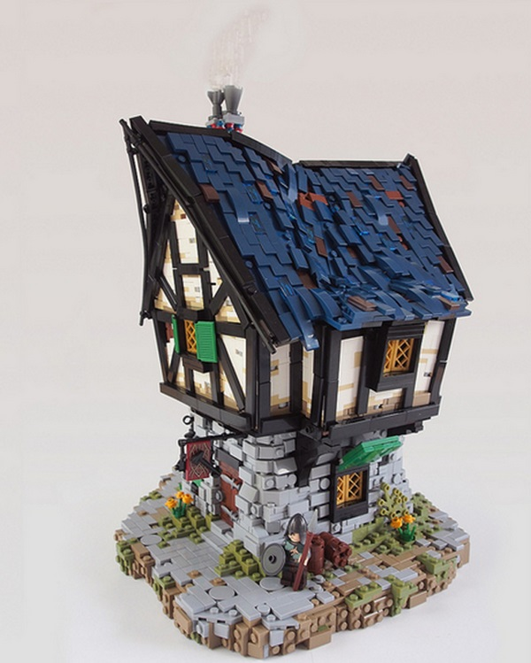 Medieval LEGO Buildings
