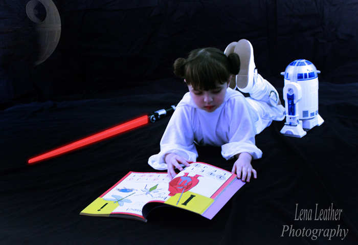 Little Princess Leia Cosplay